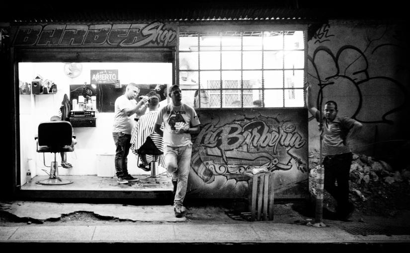 Panama – Street Photography – HairCut