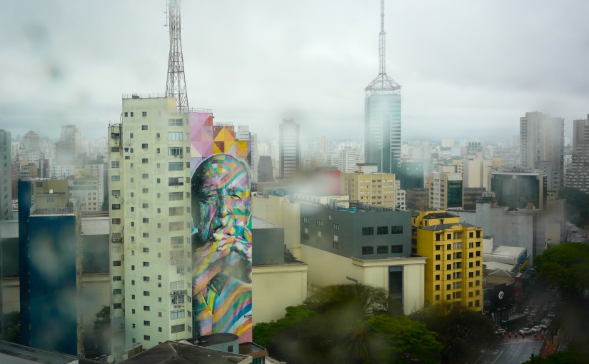 Street Art in Sao Paulo,Brazil.